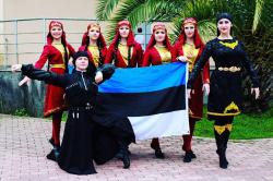 Kaukaasia tantsuansambel Terek-3_Märjamaa Folk 2020