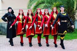 Kaukaasia tantsuansambel Terek-1_Märjamaa Folk 2020